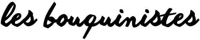 Logo les bouquinistes